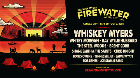 Whiskey Myers FireWater Music Festival