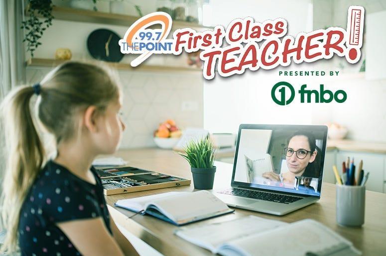 First Class Teacher Nominations