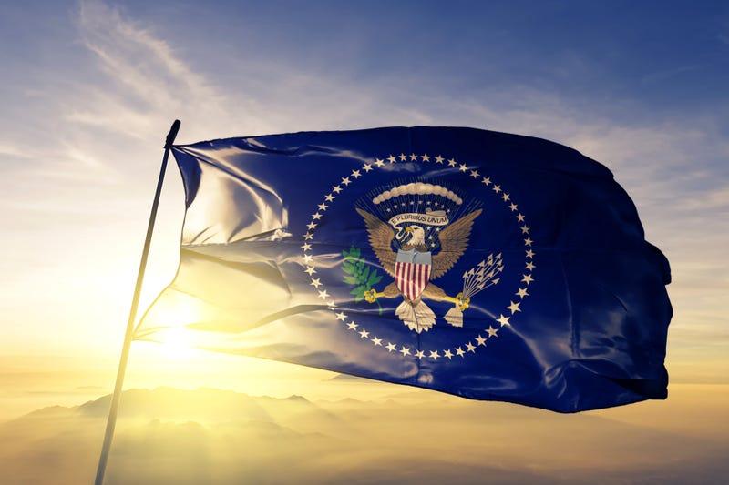 President of the United States flag