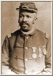 John Denny African American Indian Wars Congressional Medal of Honor Winner