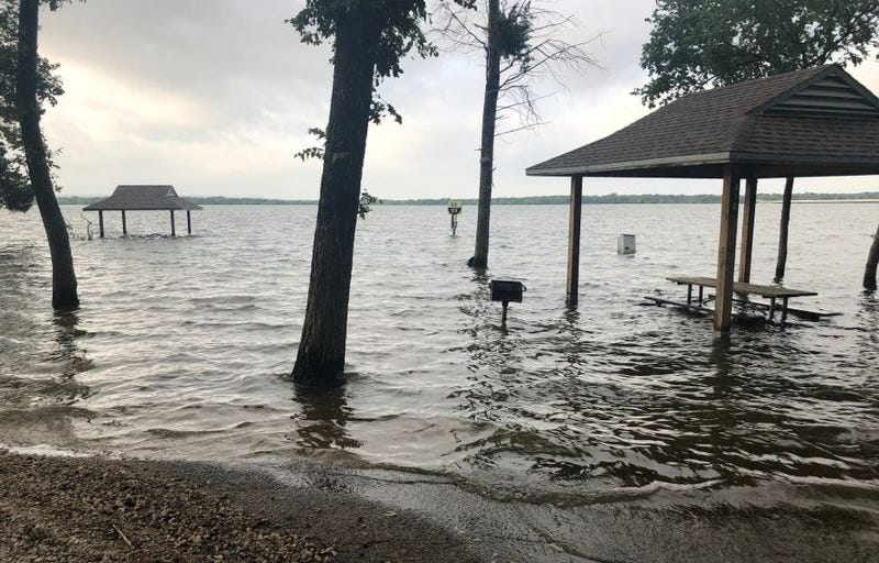 Flooded Lake, Flooded Campground