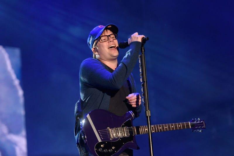 Patrick Stump Sings At Fallout Boy Concert