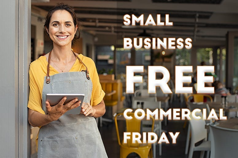 Free Commercial Friday