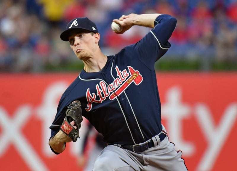 Braves' Max Fried pitches against the Phillies.