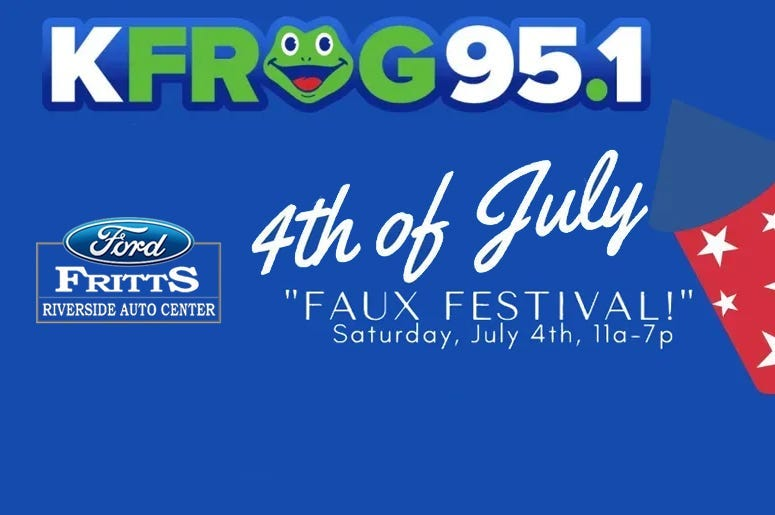 4th of July Faux Festival