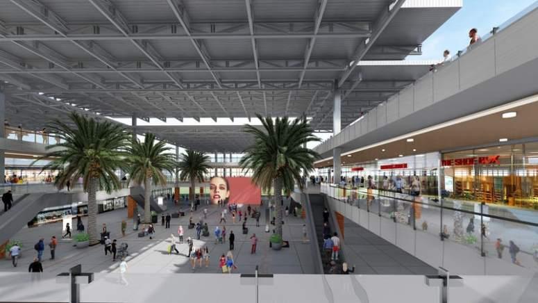 Future Look of Collin Creek Mall - Plano TX