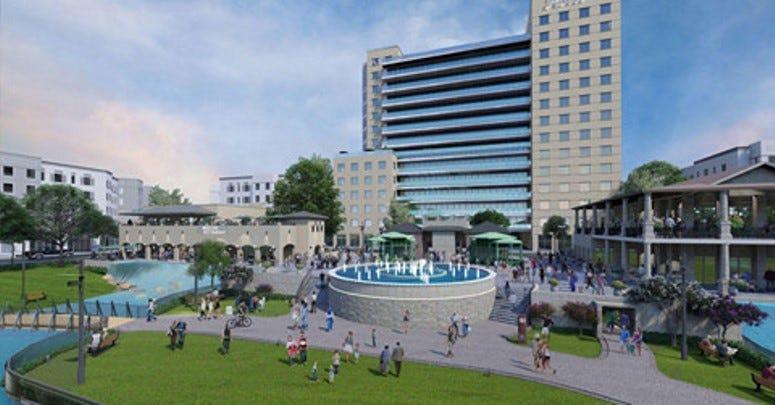 Future Look of Collin Creek Mall - Plano TX - 2
