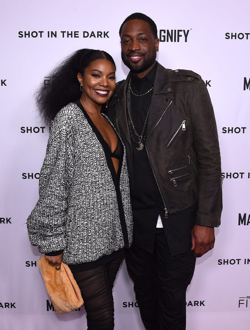 Gabrielle and Dwayne