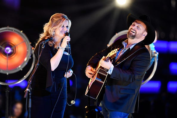 Garth Brooks, Trisha Yearwood, Shallow, Radiocom LIVE,