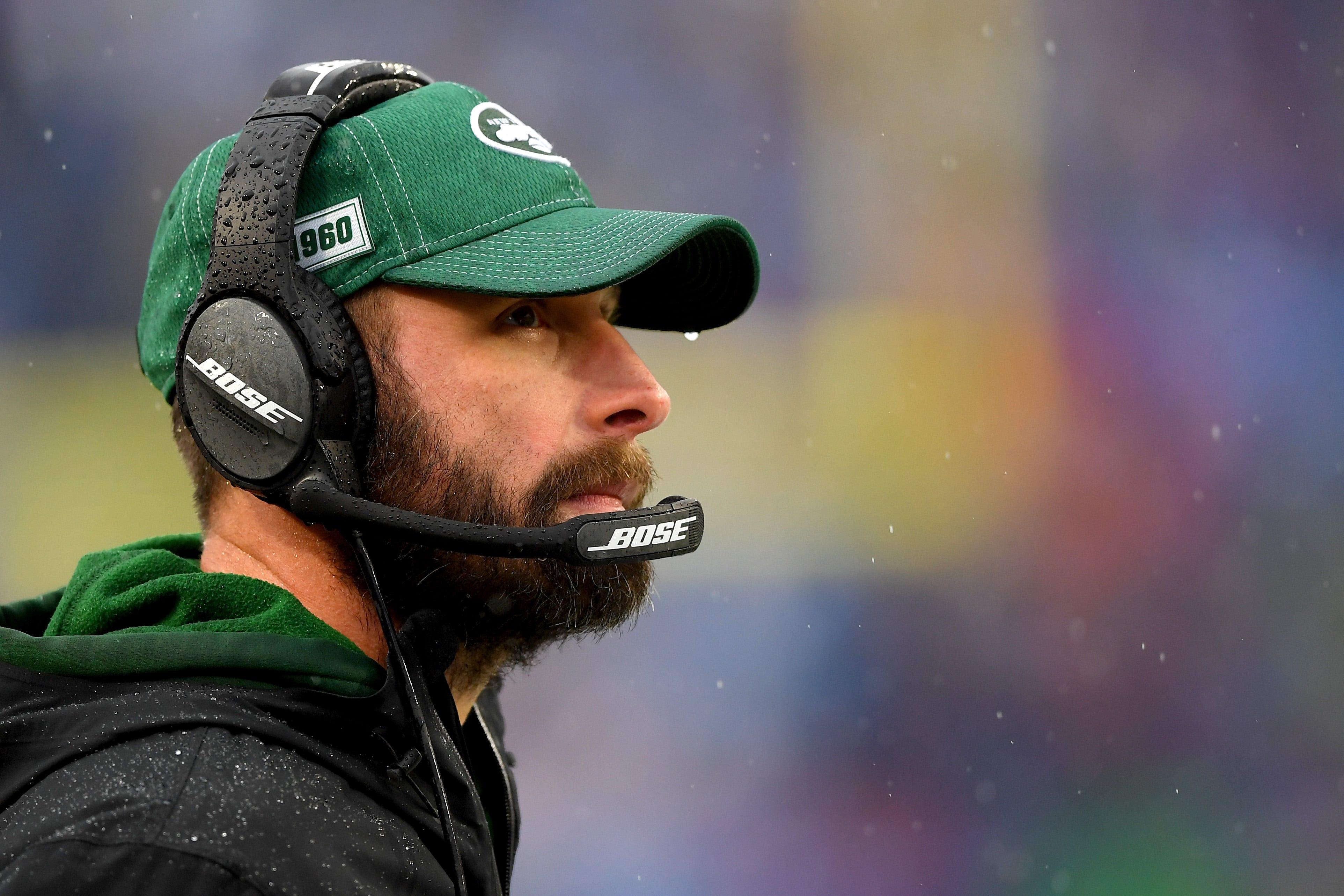 Jets brass 'monitoring' Adam Gase this week: report