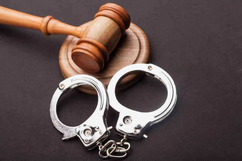 gavel handcuffs