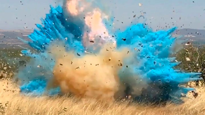 Another Gender Reveal Party, Another Wildfire