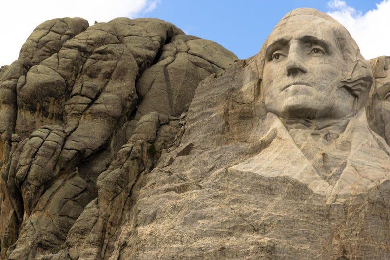 Washington portion of Mount Rushmore