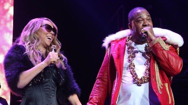 Mariah Carey and Busta Rhymes