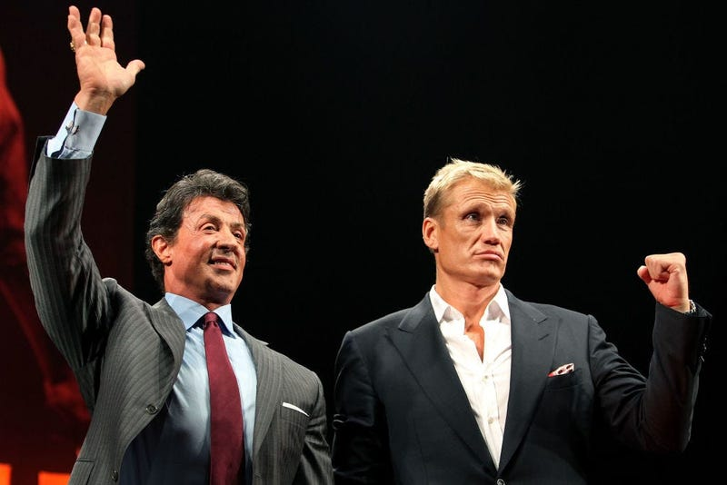 Sylvester Stallone & Dolph Lundgren