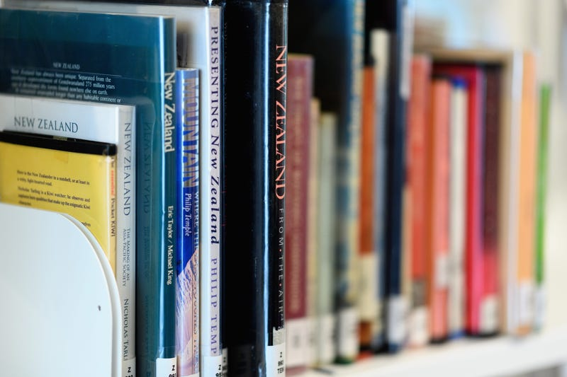 CHRISTCHURCH, NEW ZEALAND - OCTOBER 12: Books line the shelves during the official opening of the new Christchurch central library, Turanga, on October 12, 2018 in Christchurch, New Zealand.