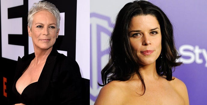Jamie Lee Curtis / Neve Campbell