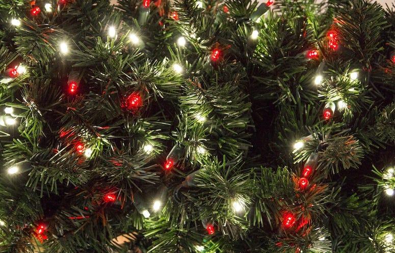 Christma Tree, Ornaments, Lights