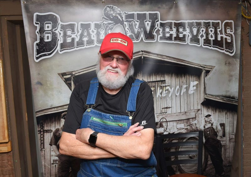 Country artist Charlie Daniels is seen backstage prior to The Beau Weevils Surprise Show at Winners and Losers Bar on October 30, 2018 in Nashville, Tennessee.