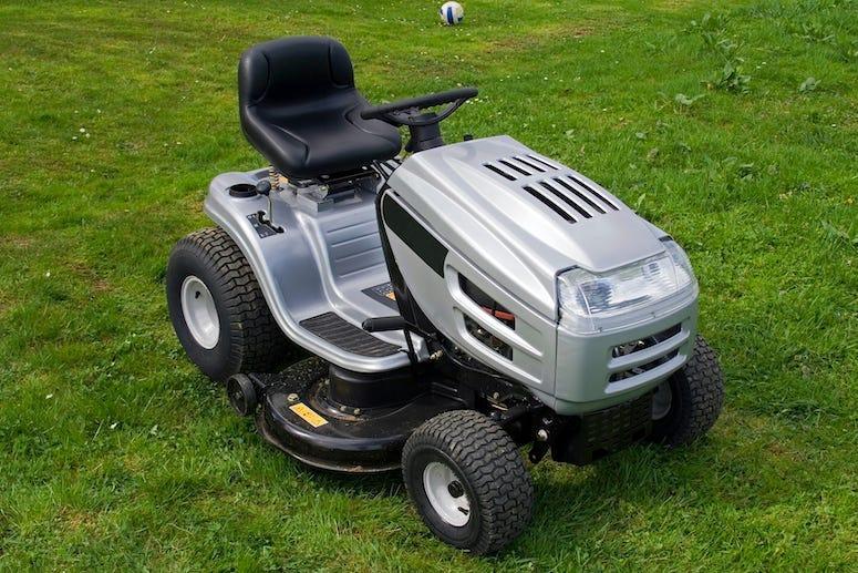 Lawn Mower, Riding Mower, Lawn, Yard