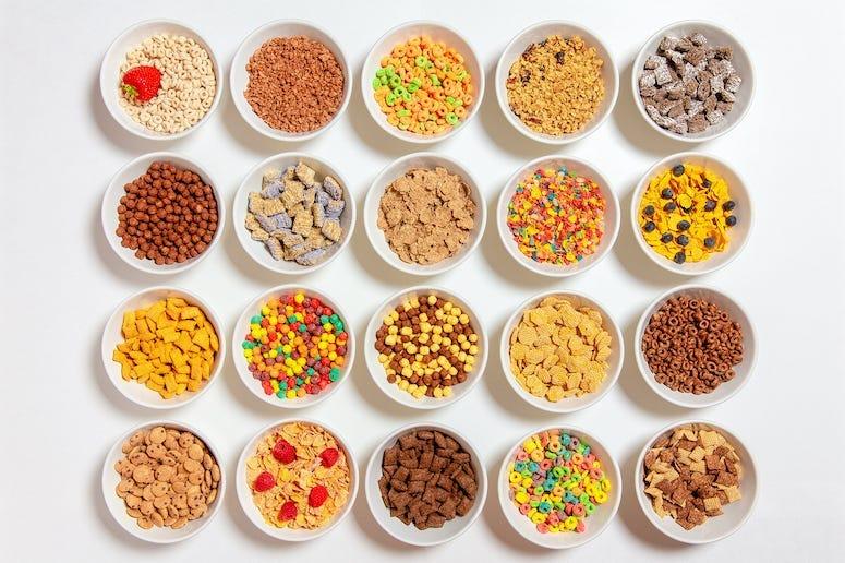 Cereals, Bowls, Breakfast Cereal