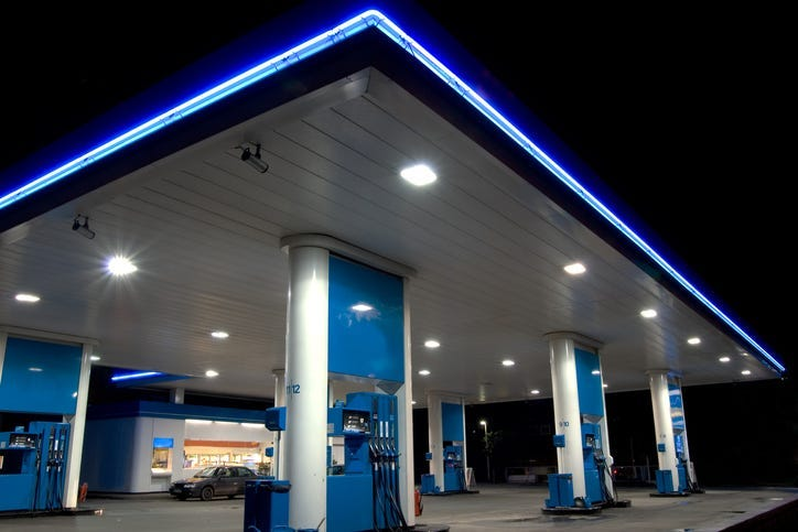 Convenience Store, Gas Station