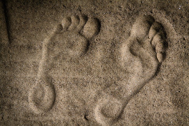 Feet In Dirt