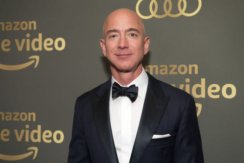 Amazon CEO Jeff Bezos attends the Amazon Prime Video's Golden Globe Awards After Party at The Beverly Hilton Hotel