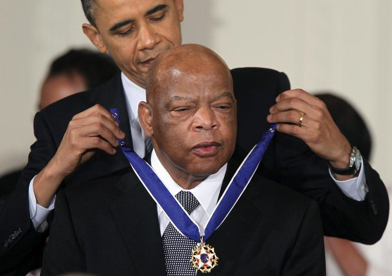 President Barack Obama honors U.S. Rep. John Lewis with Medal of Freedom