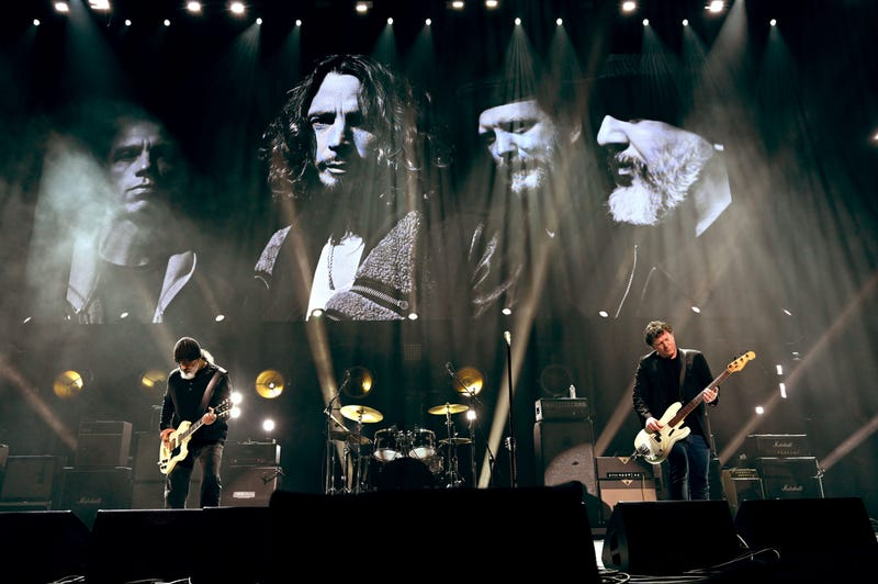 Soundgarden paying tribute to Chris Cornell