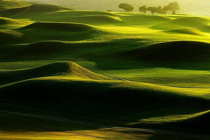 Long golf course