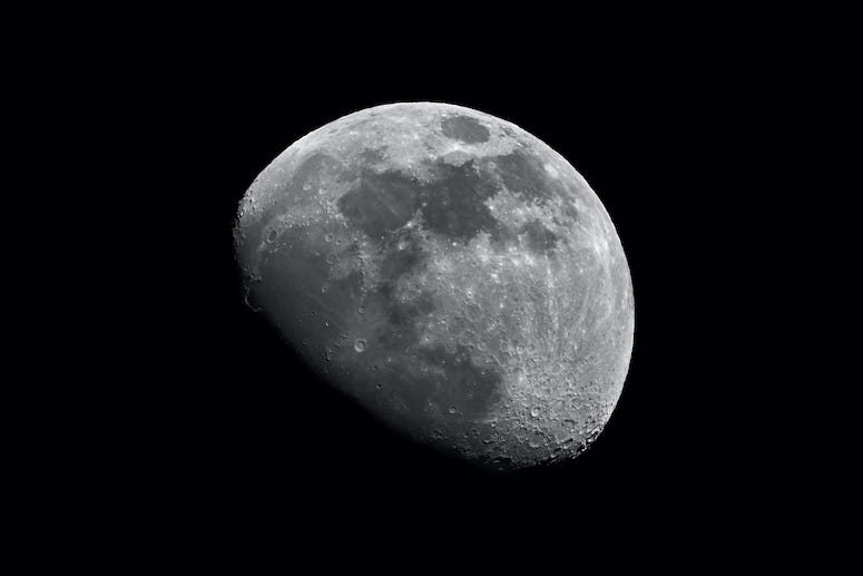 Moon, Space, Outer Space