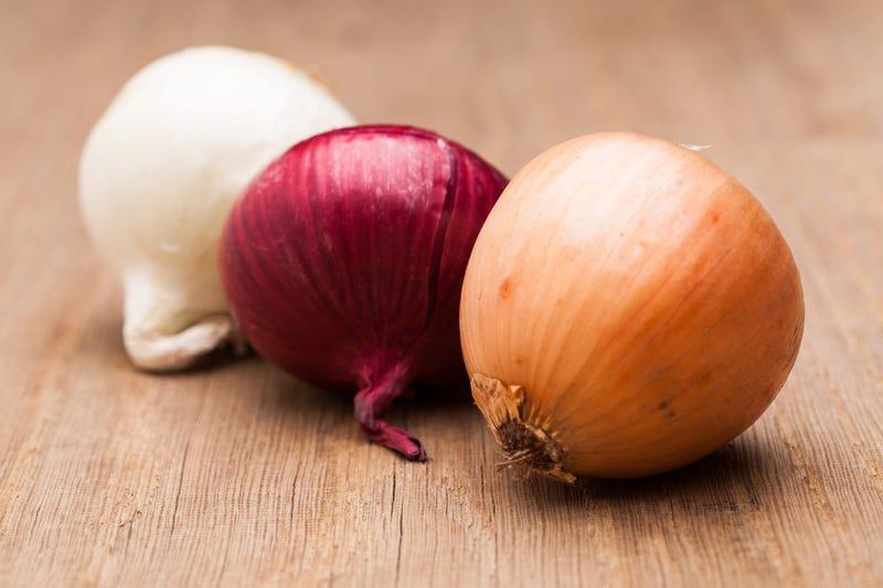 Onions (GETTY)