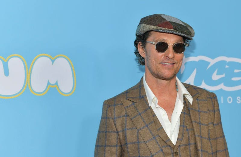"""Matthew McConaughey attends the Los Angeles premiere of  """"The Beach Bum"""" at ArcLight Hollywood"""