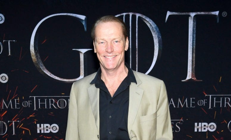 Iain Glen attends the