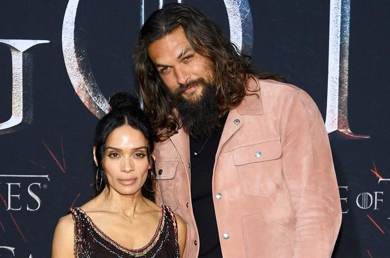 'Game Of Thrones' Season 8 Premiere NEW YORK, NEW YORK - APRIL 03: Lisa Bonet and Jason Momoa attend the 'Game Of Thrones' Season 8 Premiere on April 03, 2019 in New York City.