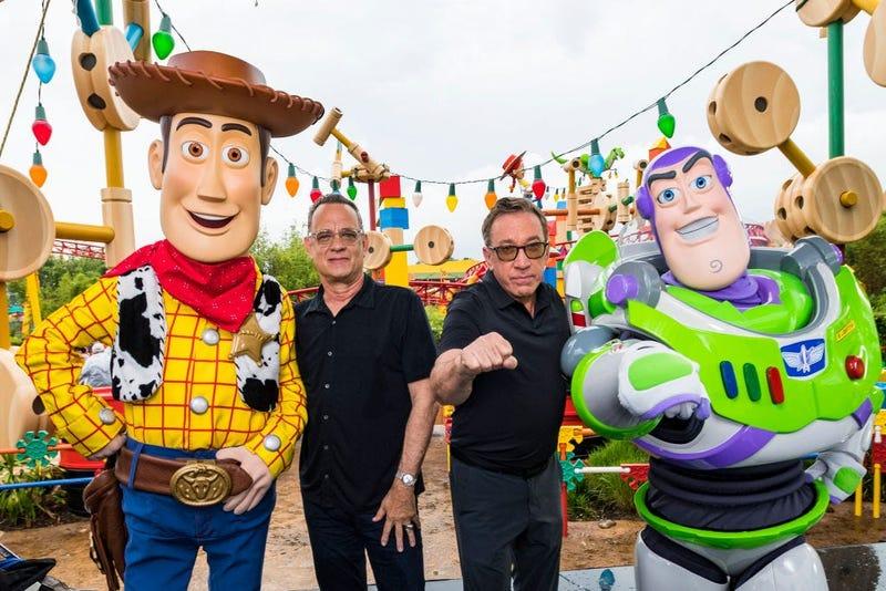 Tom Hanks & Tim Allen