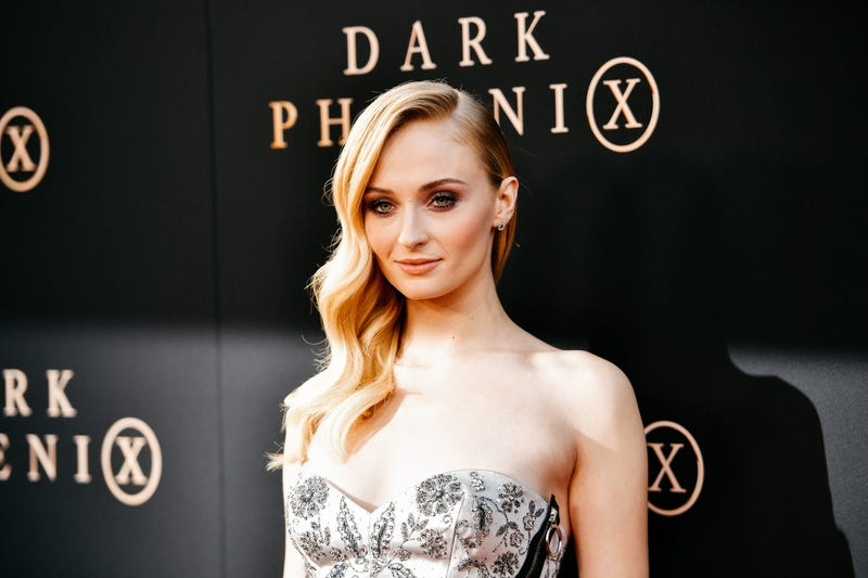 "HOLLYWOOD, CALIFORNIA - JUNE 04: (EDITORS NOTE: Image has been processed using digital filters) Sophie Turner attends the premiere of 20th Century Fox's ""Dark Phoenix"" at TCL Chinese Theatre on June 04, 2019 in Hollywood, California."