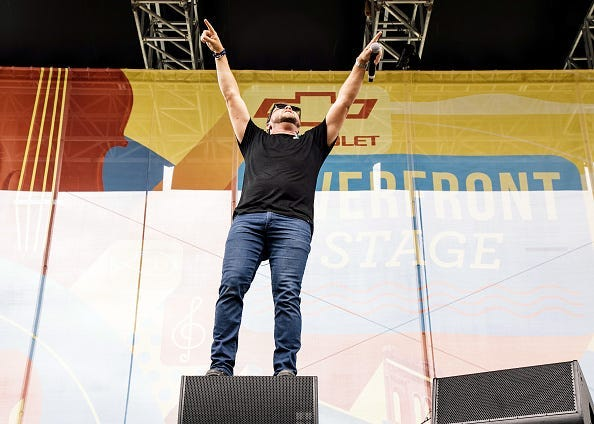 Mike Eli of the Eli Young Band