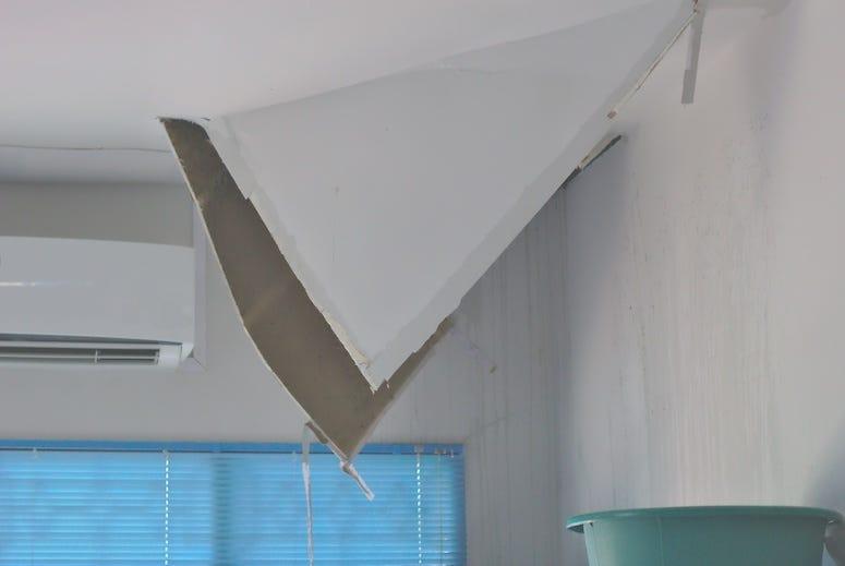 Hole, Ceiling, Roof, Gypsum Board