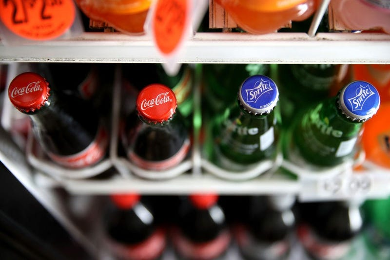 Coca-Cola and Sprite