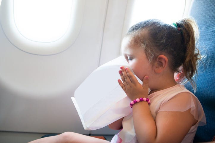 Sick Kid on a Plane