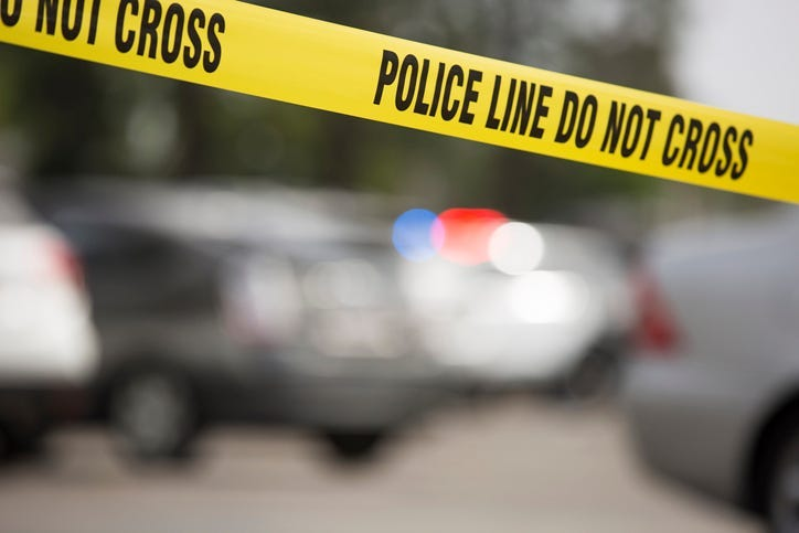 Crime Scene, Shooting,