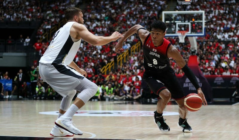 Rui Hachimura scores 31, Japan beats Germany