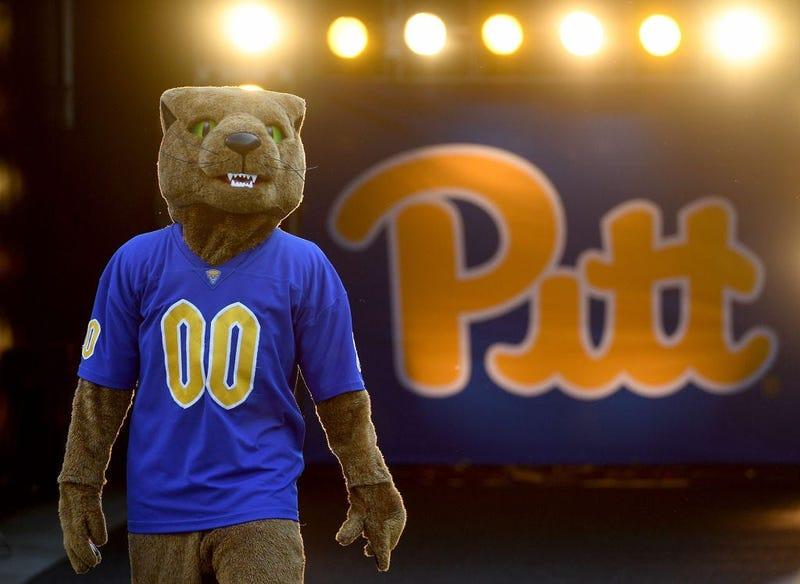 """Pitt Panthers mascot """"Roc"""""""