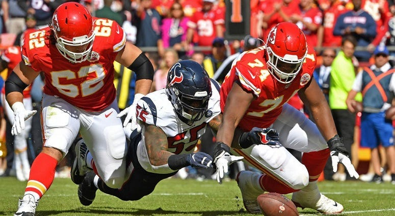 Chiefs hosting the Texans in the AFC Divisional Round