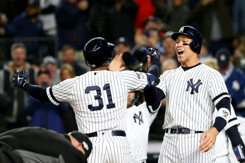 Aaron Hicks and Aaron Judge
