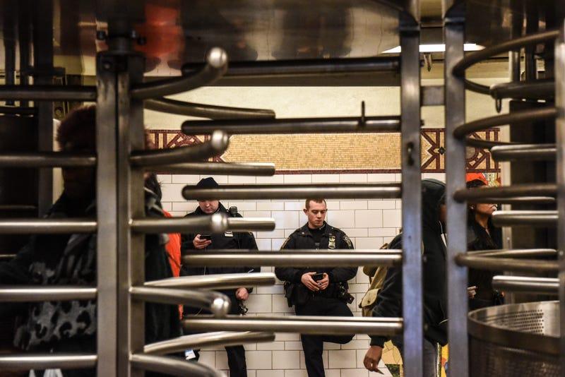 NYPD subway