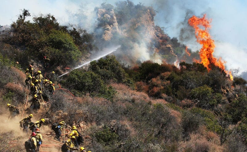 CA Wildfires (GETTY)
