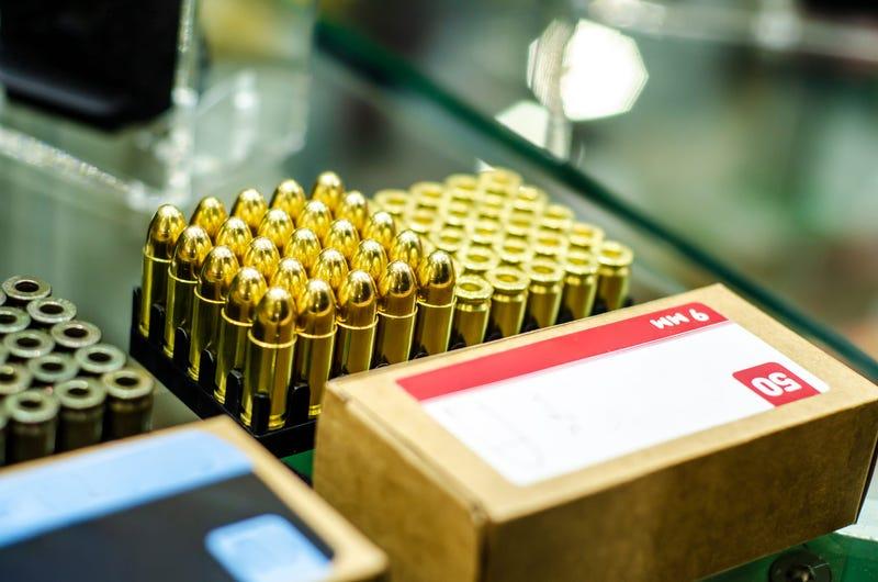 Ammunition at gun store
